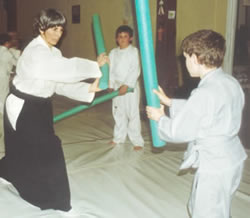 Liam doing Aikido